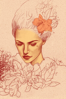 The Artcircle, Portrait - Pastel Tones by Justyna Caputa (Poland, Europe)