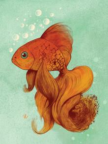 The Artcircle, Der Goldfisch von Justyna Caputa (Polen, Europa)