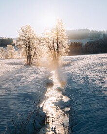 André Alexander, Winter flow (Germany, Europe)
