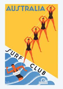 Vintage Collection, Australia Surf Club (weiß) (Deutschland, Europa)