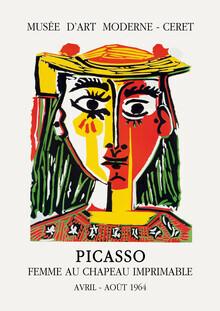 Art Classics, Picasso - FEMME AU CHAPEAU IMPRIMABLE (Deutschland, Europa)