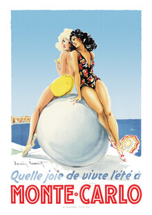 Vintage Collection, Quelle joie de vivre l'été à MONTE CARLO (Deutschland, Europa)