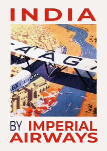 Vintage Collection, India - by Imperial Airways (Germany, Europe)
