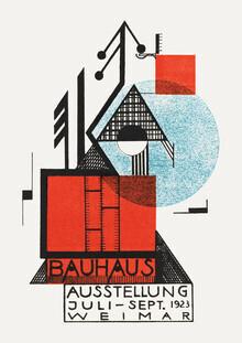 Bauhaus Collection, Bauhaus Austellung Weimar 1923 (sepia) (Deutschland, Europa)