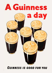 Vintage Collection, A Guinness A Day - Guinness Is Good For You (Germany, Europe)