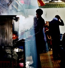 Juan Urgelles, Cooking with steam (Morocco, Africa)