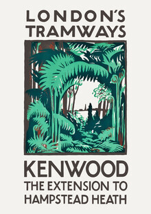 Vintage Collection, London's Tramways - Kenwood, The Extension To Hampstead Heath (Germany, Europe)