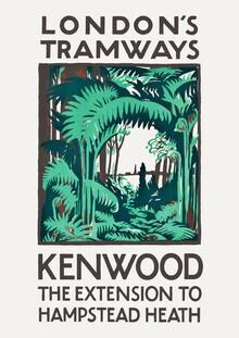 Vintage Collection, London's Tramways - Kenwood, The Extension To Hampstead Heath (Deutschland, Europa)