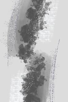 Melanie Viola, Abstrakte Malerei Nr 12 ANZIEHUNG (Deutschland, Europa)