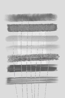 Melanie Viola, Abstrakte Malerei Nr 13 KLARHEIT (Deutschland, Europa)