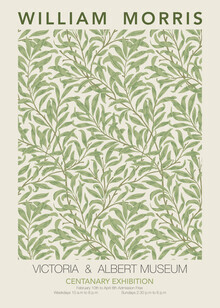 Art Classics, William Morris - grünes Blumenmuster (Deutschland, Europa)