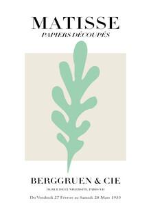 Art Classics, Matisse - Papiers Découpés, grün und beige (Deutschland, Europa)