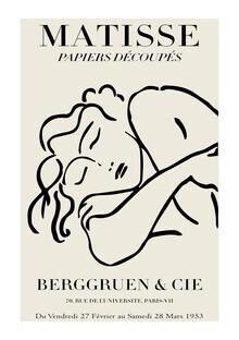 Art Classics, Matisse – Frau schwarz-beige (Deutschland, Europa)
