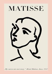 Art Classics, Matisse – Frauengesicht rosa-beige (Deutschland, Europa)