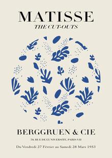 Art Classics, Matisse – The Cut-Outs blue / beige (Germany, Europe)
