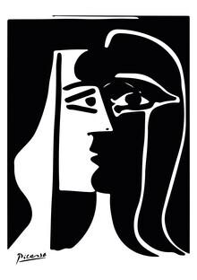 Art Classics, Picasso - portrait in b/w (Germany, Europe)