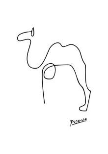 Art Classics, Picasso - Kamel schwarzweiß (Deutschland, Europa)