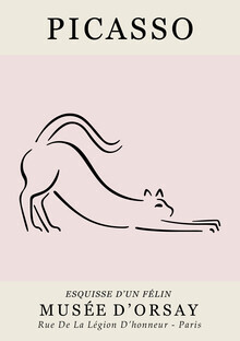Art Classics, Picasso - Esquisse D'Un Felin (Germany, Europe)
