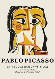 Art Classics, Pablo Picasso - Tête De Femme 1962 (Deutschland, Europa)