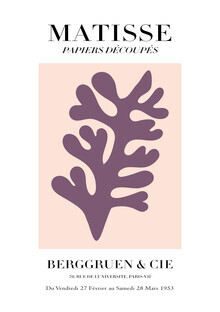 Art Classics, Matisse – botanisches Design rosa-lila (Deutschland, Europa)