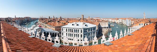 Jan Becke, Über den Dächern von Venedig (Italien, Europa)