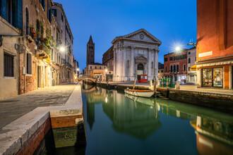 Jan Becke, Church San Barnaba in Venice (Italy, Europe)