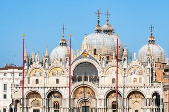 Jan Becke, Kuppeln des Markusdoms in Venedig (Italien, Europa)