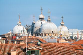 Jan Becke, Blick auf den Markusdom in Venedig (Italien, Europa)