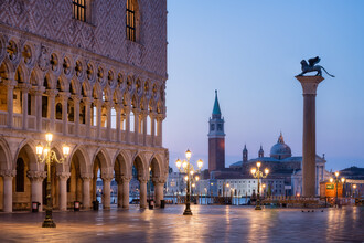 Jan Becke, St. Mark's Square in Venice (Italy, Europe)