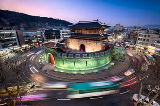 Jan Becke, Paldalmun Gate in Seoul (Korea, South, Asia)