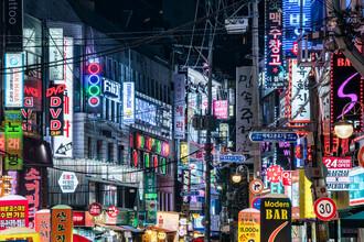 Jan Becke, Nachtleben in Seoul (Südkorea, Asien)