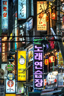 Jan Becke, Colorful neon signs in Seoul (Korea, South, Asia)