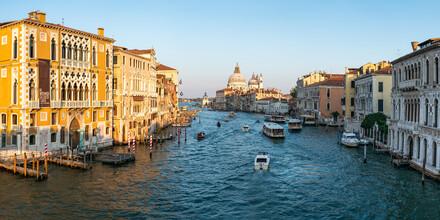 Jan Becke, Der Canale Grande & Santa Maria della Salute in Venedig (Italien, Europa)