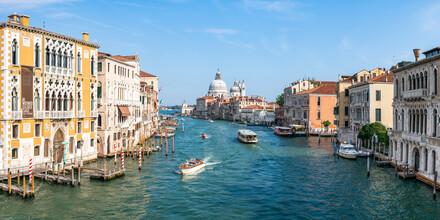 Jan Becke, Der Canale Grande & Santa Maria della Salute im Sommer (Italien, Europa)