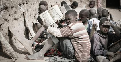 Koranschüler in Timbuktu - fotokunst von Mathias Becker