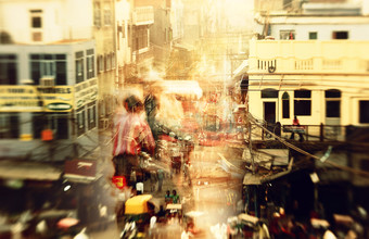 Chandni Chowk - Fineart photography by Victoria Knobloch