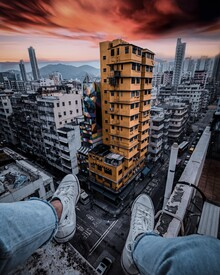 Georges Amazo, Rooftop dream (Hong Kong, Asia)