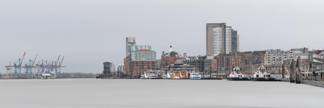 Dennis Wehrmann, Panorama Hafen Hamburg (Deutschland, Europa)