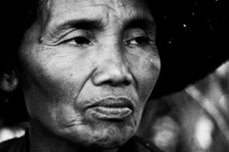 Michael Schöppner, Old woman, Bali, Indonesia (Indonesien, Asien)