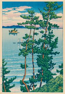 Japanese Vintage Art, Summer Landscape by Hasui Kawase (Japan, Asien)