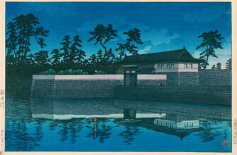 Japanese Vintage Art, Sakurada Gate by Hasui Kawase (Japan, Asien)