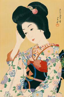 Japanese Vintage Art, Departing Spring by Hasui Kawase (Japan, Asien)