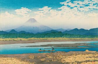Japanese Vintage Art, Mount Fuji by Hasui Kawase (Japan, Asien)