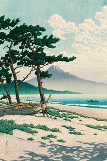 Japanese Vintage Art, Lake Toya in Hokkaido by Hasui Kawase (Japan, Asia)