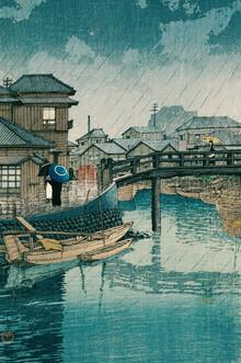 Japanese Vintage Art, Shinagawa by Kawase Hasui (Japan, Asia)