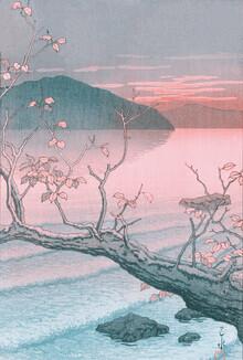 Japanese Vintage Art, Autumn by Hasui Kawase (Japan, Asia)