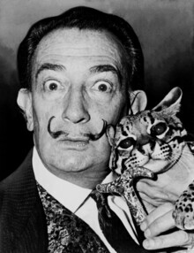 Vintage Collection, Dalí with ocelot friend (Germany, Europe)