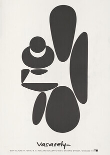 Vintage Collection, Victor Vasarely Exhibition Poster, 1964 (Germany, Europe)