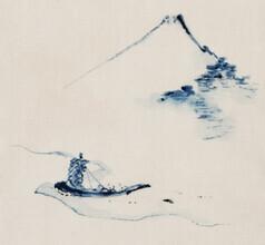 Japanese Vintage Art, Mount Fuji by Katsushika Hokusai (Japan, Asia)