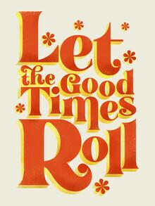 Ania Więcław, Let the good times roll - retro type (Poland, Europe)
